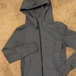 Lululemon SUPER SOFT zip jacket